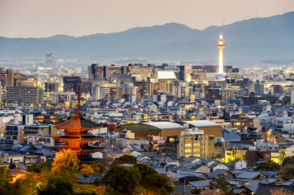 Kyoto was the imperial capital of Japan from 794 to 1868
